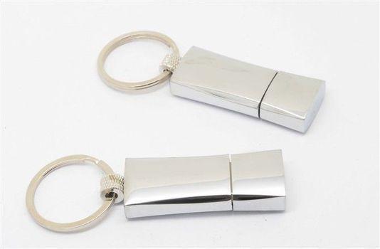 Caribi fém pendrive kulcskarikával