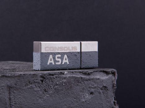 Egyedi beton pendrive