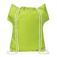 Póló formájú behúzhatós táska