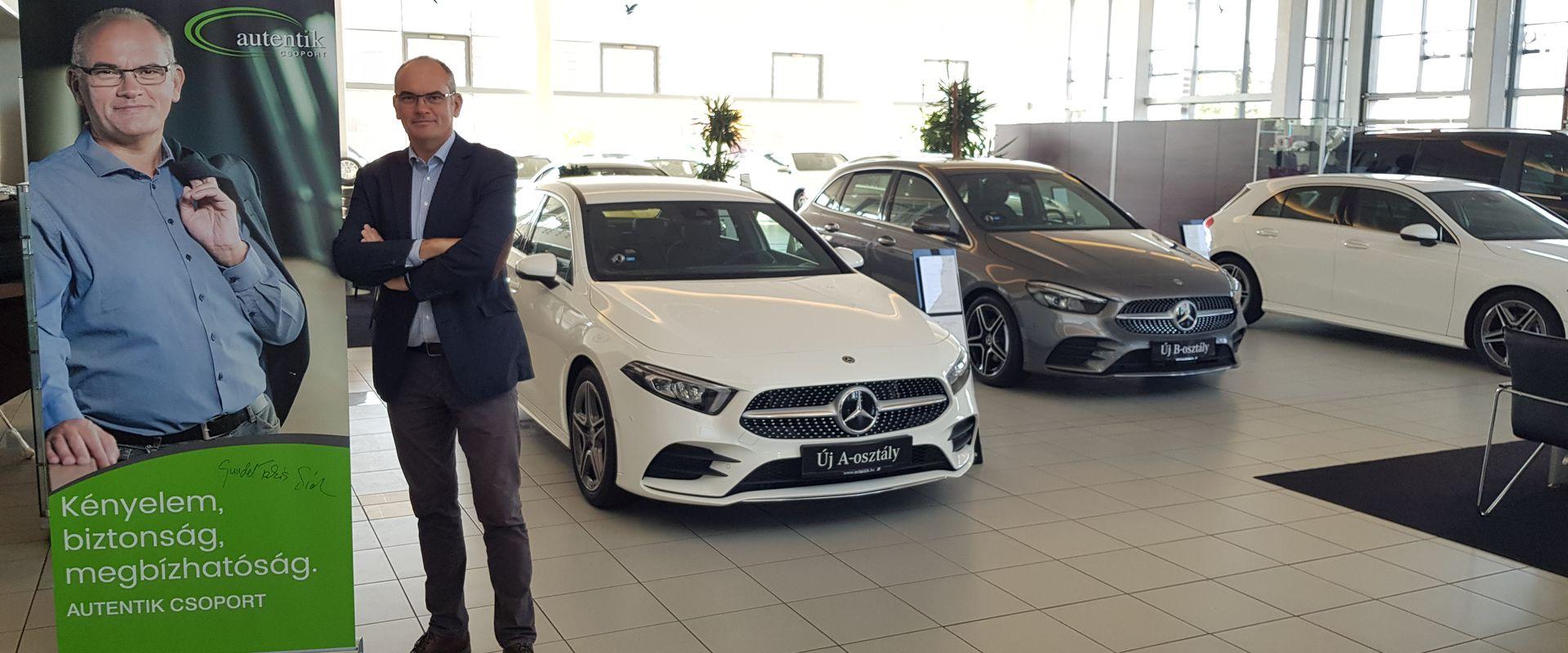 Mercedes-Benz B 180D teszt