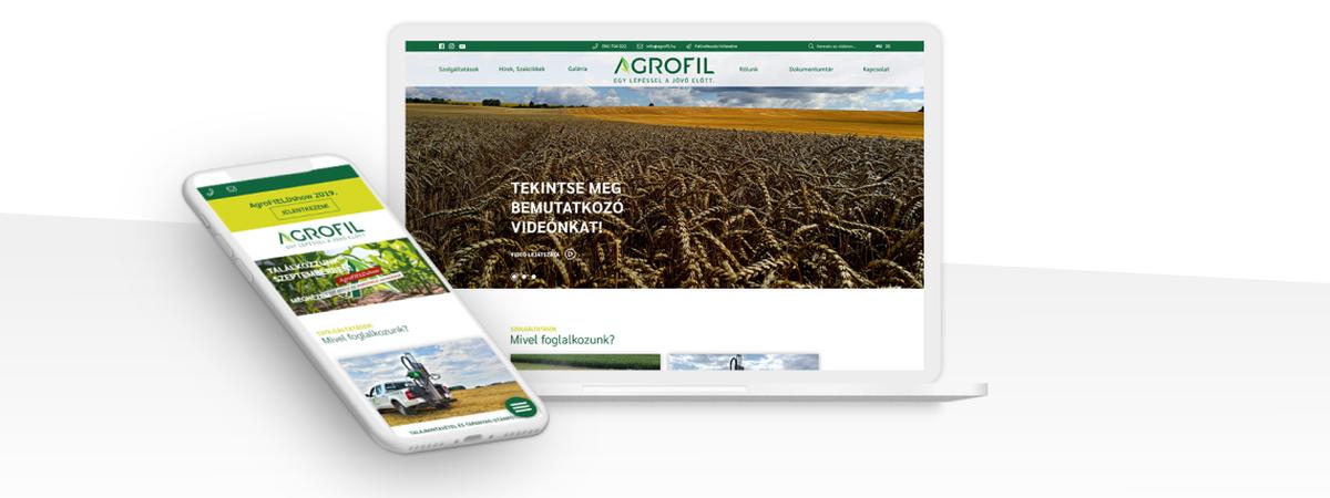Egyedi webfejlesztés eredményei a mezőgazdaságban