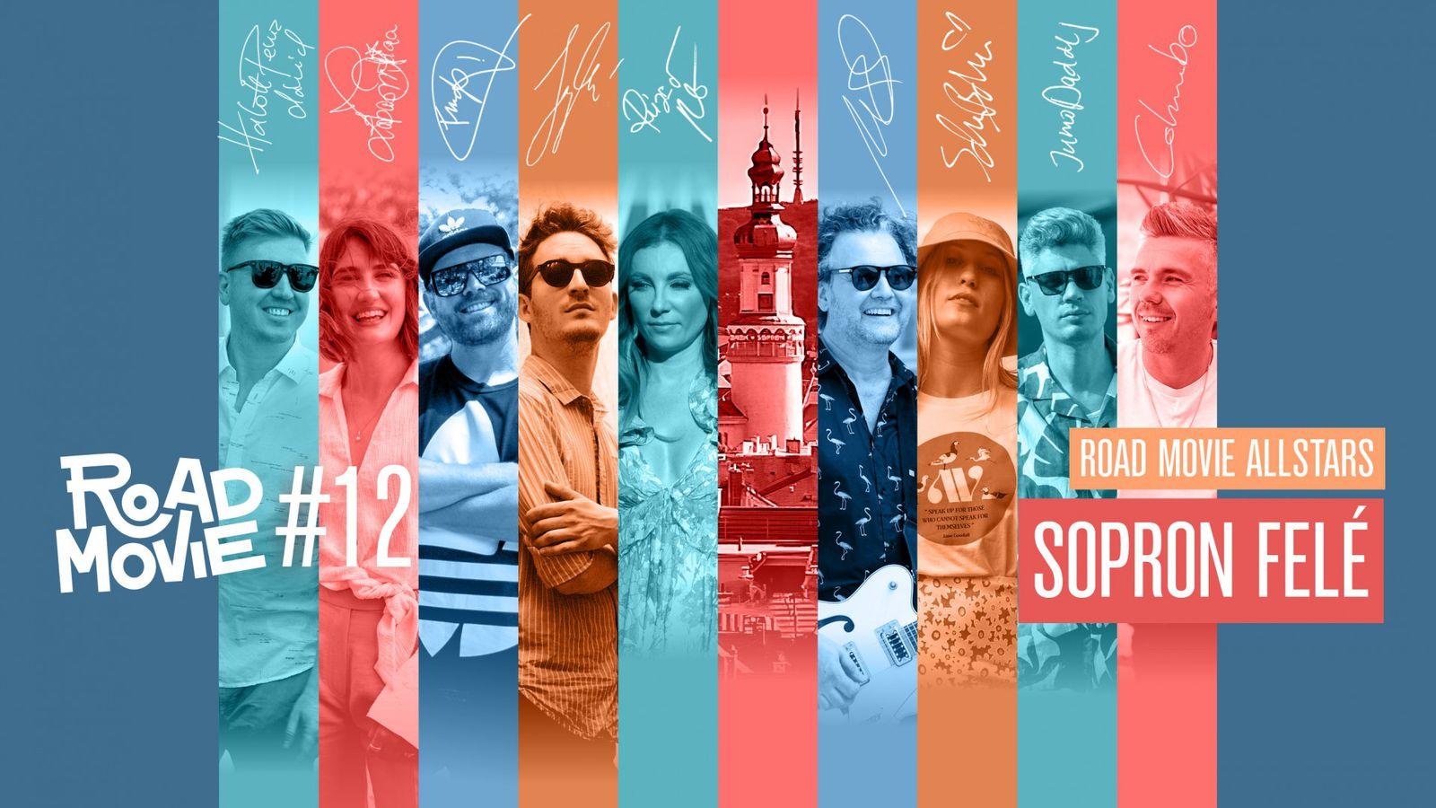 Road Movie Allstars: Sopron felé