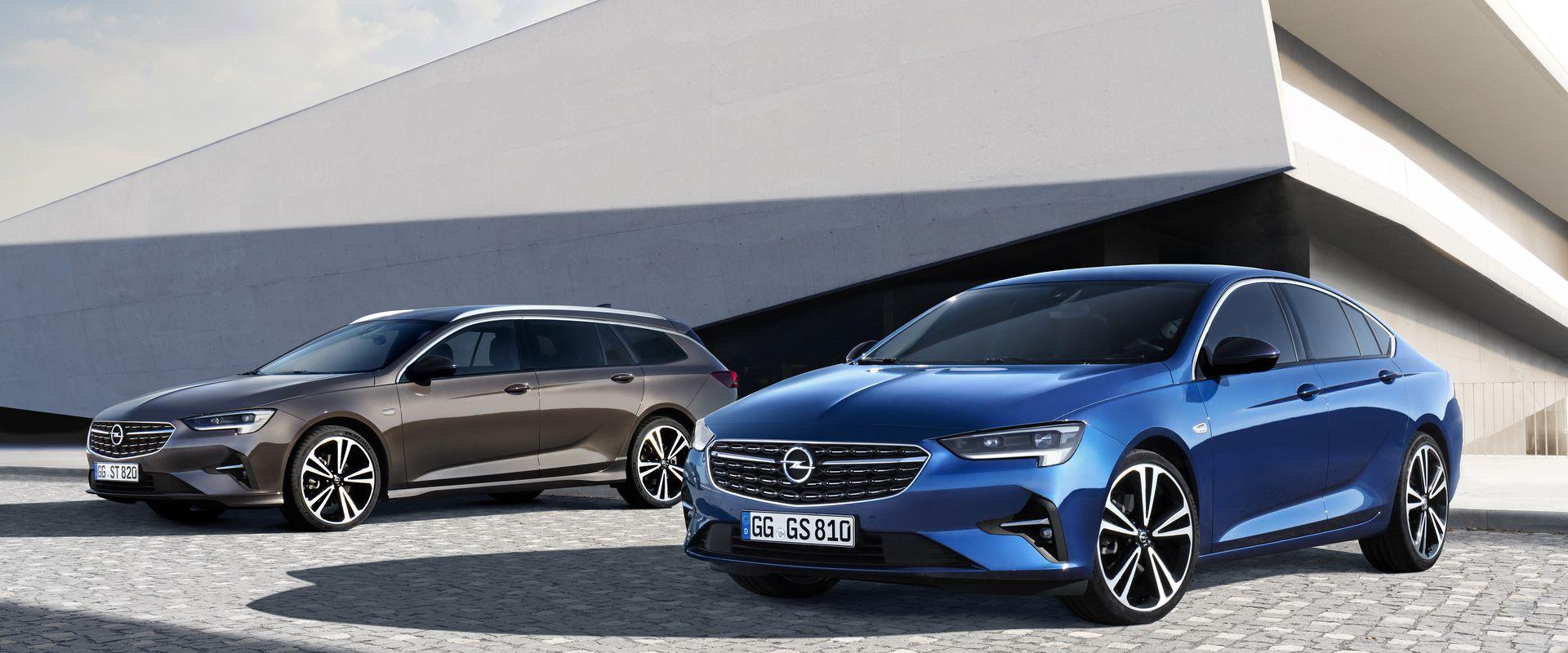 Opel Insignia új küllemmel és osztályelső világítással