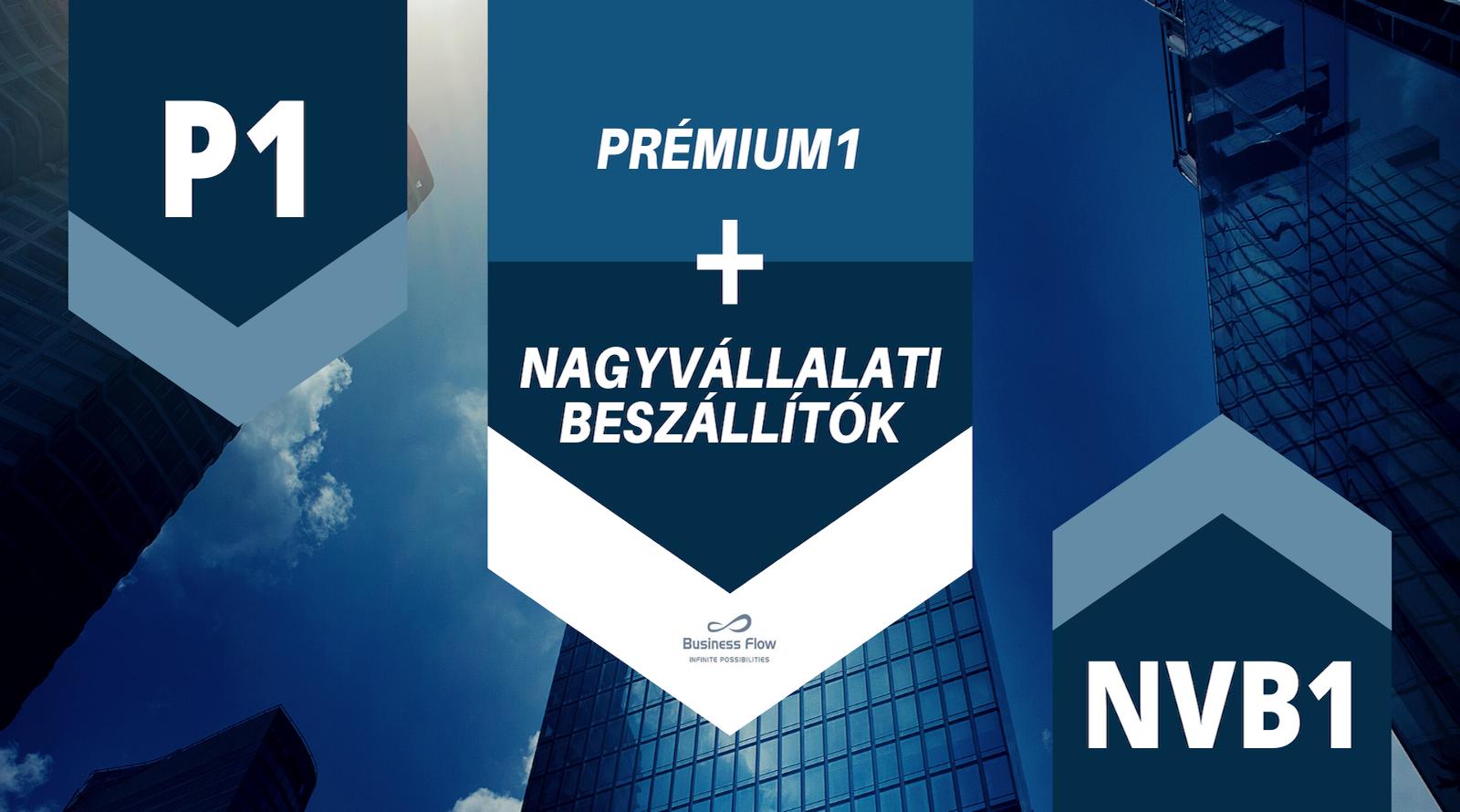 Prémium 1 Klub + Nagyvállalati Beszállítók » üzleti találkozó