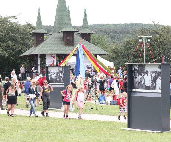 Familien-Fest im Paneuropäischen Picknick Gedenkpark