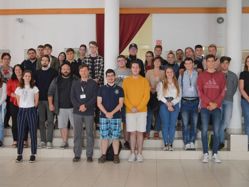 Sopronban jártak a CFTV döntős csapatai