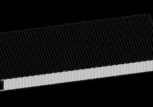 PUR-Wandpaneel mit fester Befestigung