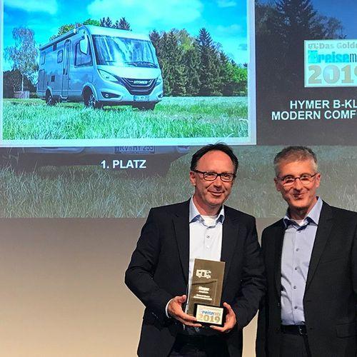 Arany Lakóautó díjat nyert a Hymer BMCI 580.