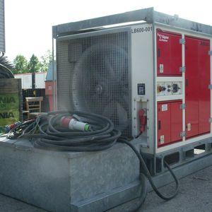 Műterhelési ellenállás - 600 kW