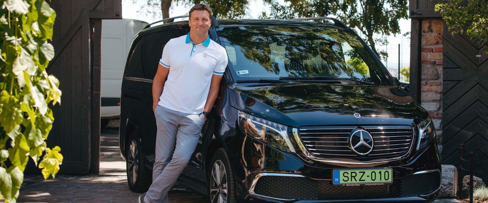 Kiss Gergely lett a Mercedes-Benz új nagykövete