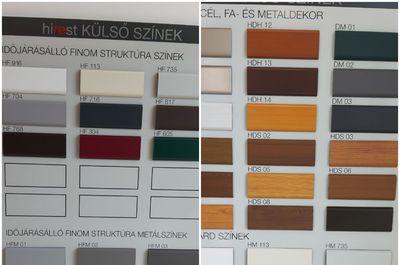 Külső színek