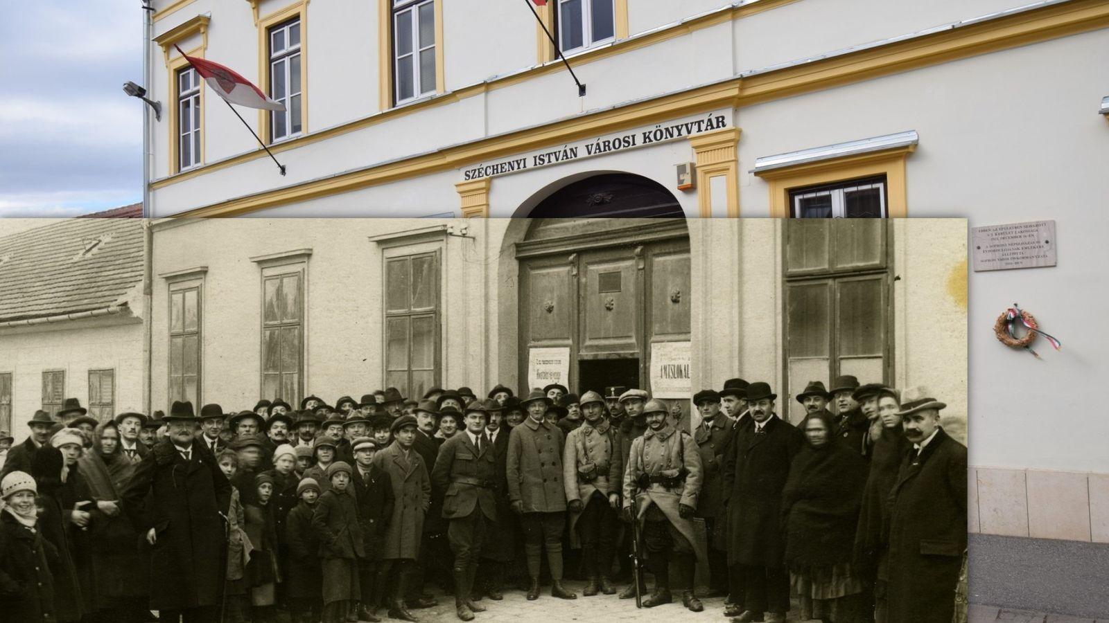 Virtuális sétát indít a soproni Széchenyi István Városi Könyvtár