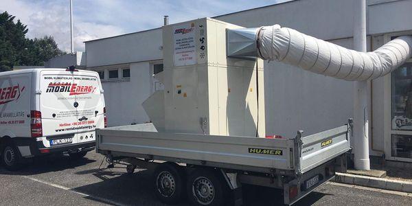 Épület klimatizálás - 40 kW