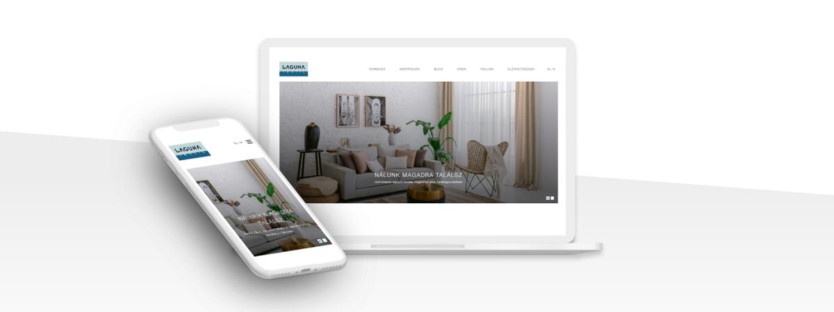 Egyedi weboldal a sikeres márka stílusához igazítva