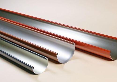 Színes belsőperemes alumínium ereszcsatorna rendszer