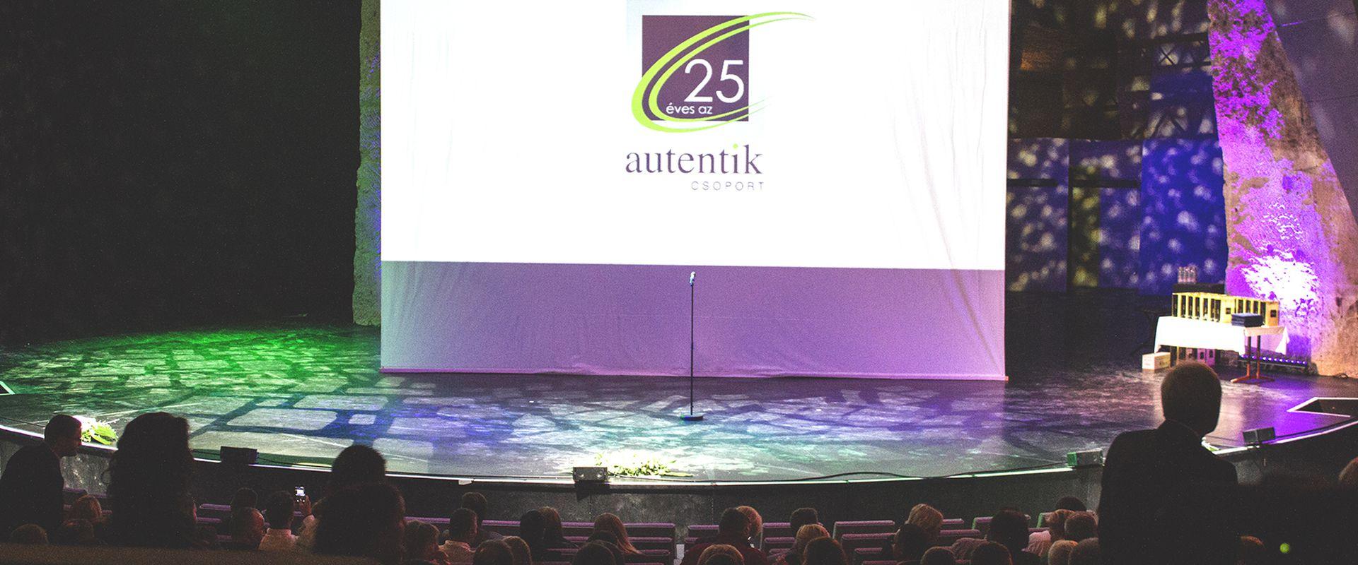 25 éves az Autentik csoport!