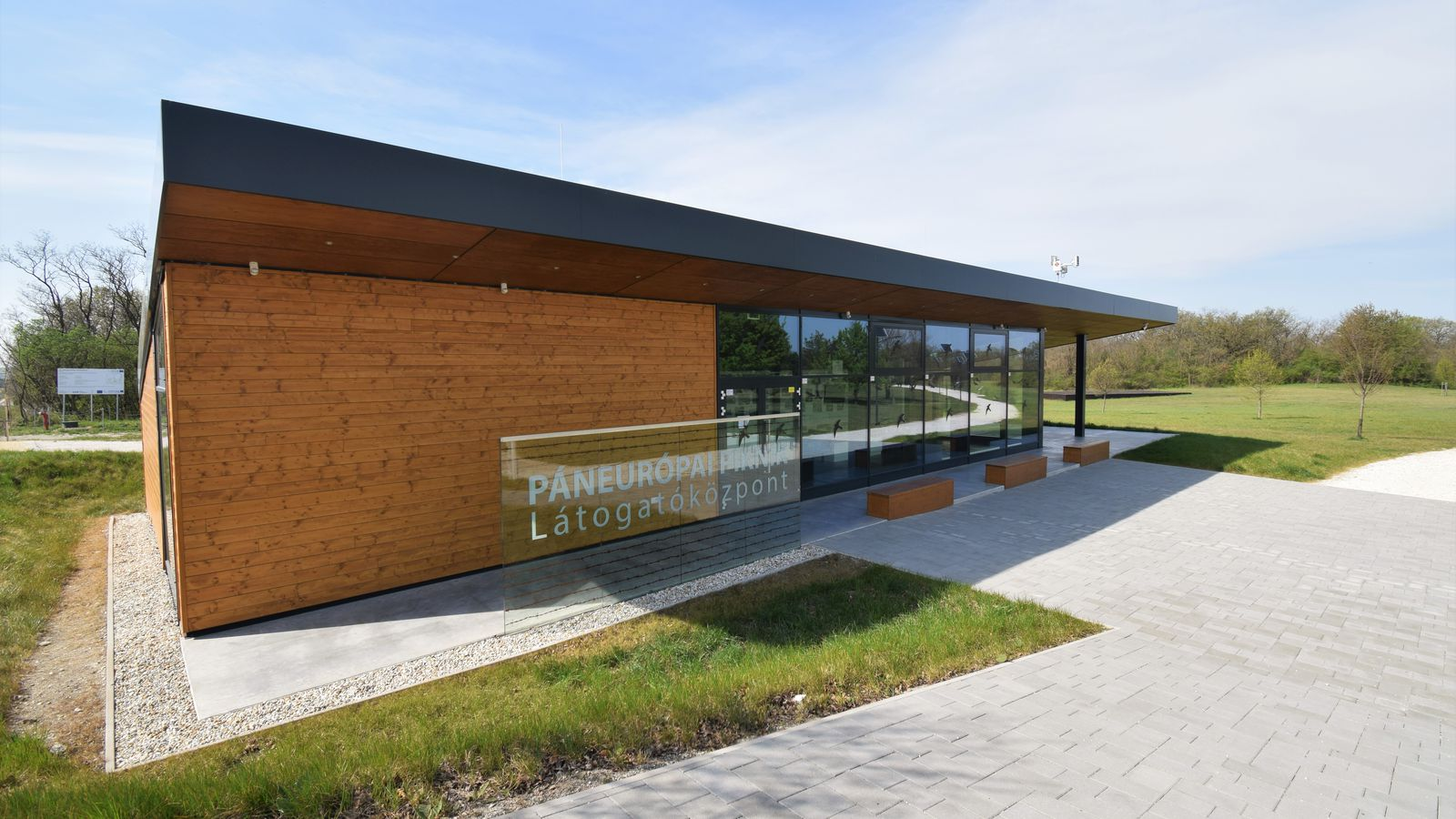 The Visitors' Centre, at the Pan-European Picnic Memorial Park has reopened