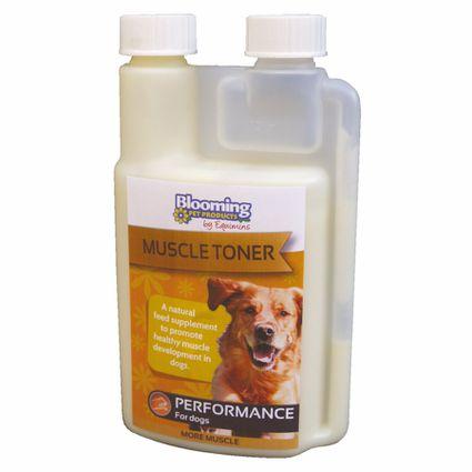 EQUIMINS MUSCLE TONER-– Izomtömeg növelő kiegészítő kutyák számára 250 ml