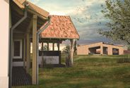 Farmstead in the Great Hungarian Plain