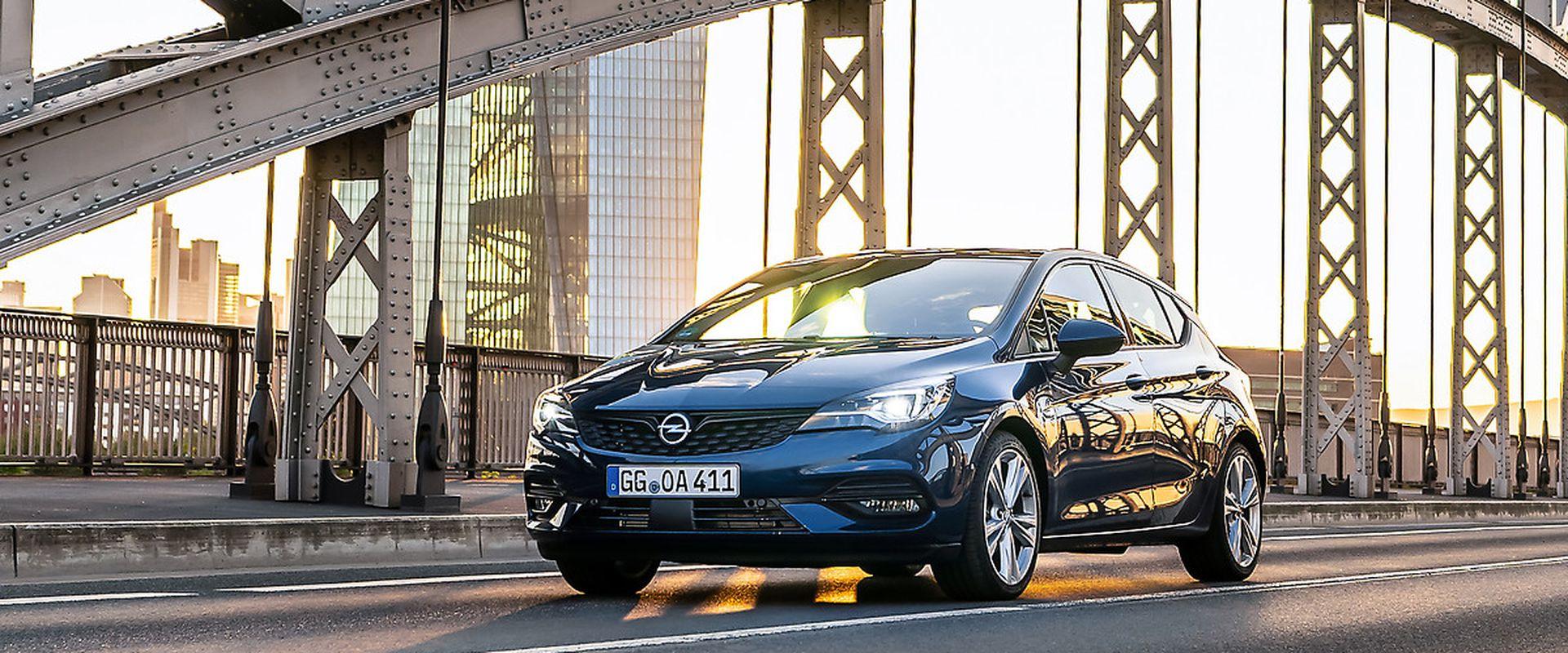Tesztet nyert az  Opel Astra